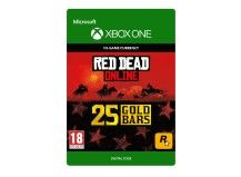 25 Red Dead Online Gold Bars Xbox One