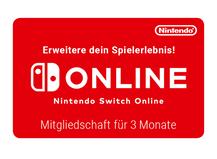 Nintendo Switch Online 3 Monate
