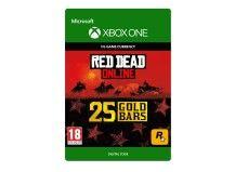 25 Red Dead Online Gold Bars