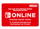 Nintendo Switch Online 12 Maanden