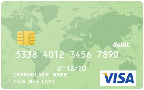Visa Gift Card 100 $
