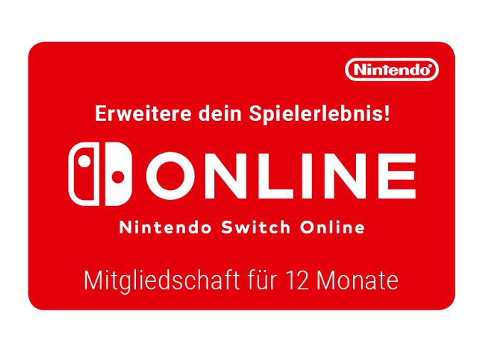 Nintendo Switch Online 12 Monate