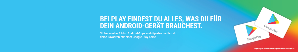 Google Play aufladen