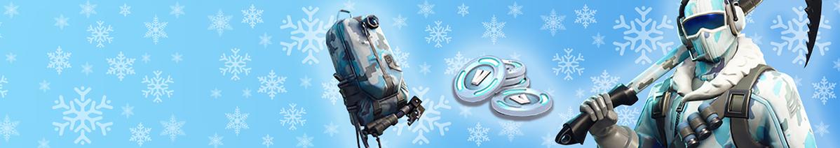 Fortnite Deep Freeze Bundle aufladen