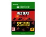 25 RDRO Gold Bars Xbox One
