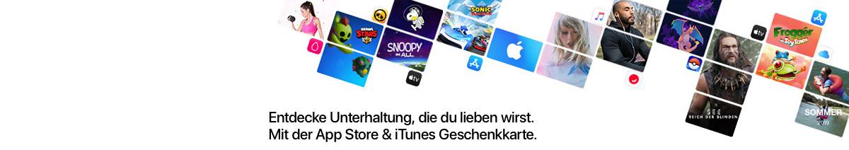 App Store & iTunes aufladen