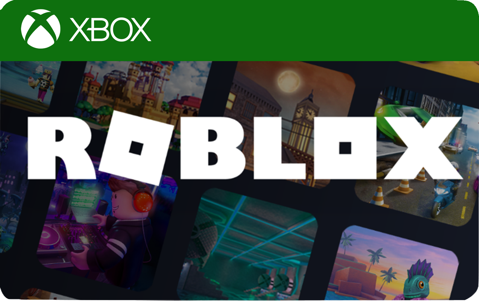 roblox xbox one gift card