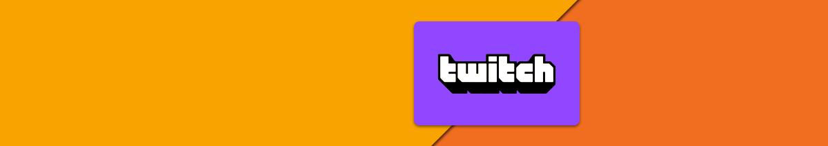 Twitch aufladen