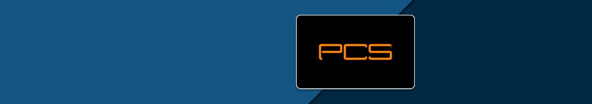 PCS aufladen
