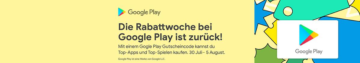 Google Play aufladen