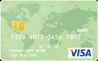 Visa Gift Card 7 $