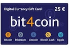 bit4coin Gift Card 25 €