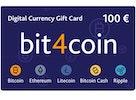bit4coin Gift Card 100 €