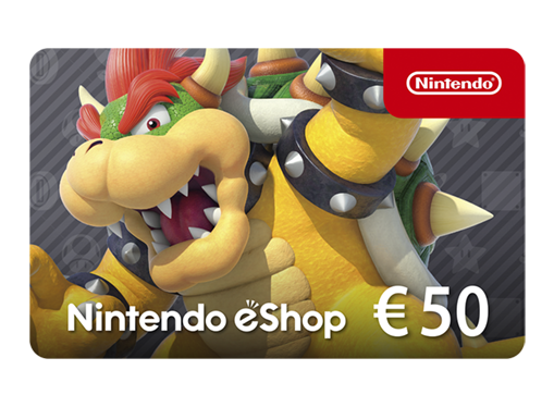 Nintendo eShop Card 50 Pounds
