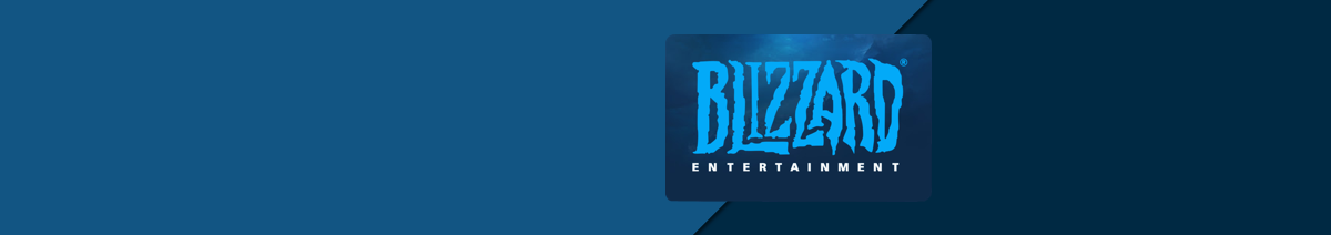 Blizzard Gift Card Top up