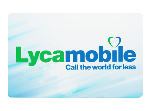 Top up Lycamobile