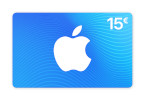 Carte App Store & iTunes 15 €