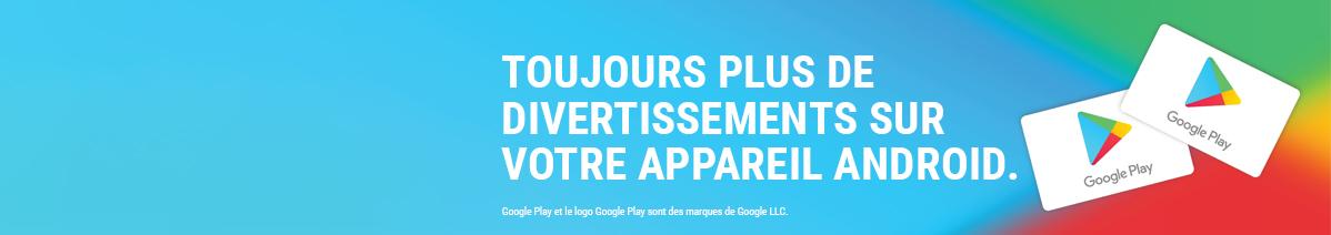 E Carte Google Play 15