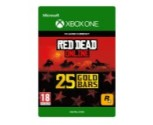 25 Lingots d'or Red Dead Online pour Xbox One