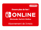 Nintendo Switch Online 3 Mois