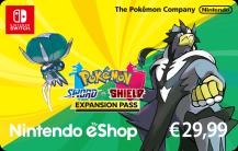 Pass d'extension Pokémon Épée et Pokémon Bouclier 29.99 €