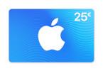 Geschenkkarte für App Store & iTunes über 25€