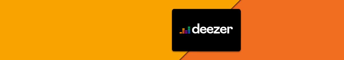 Deezer Premium aufladen
