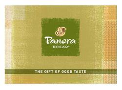 Panera Gift Card