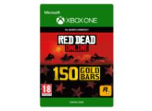 150 Red Dead Redemption Online Gold Bars Gavekort