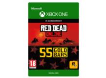 55 Red Dead Redemption Online Gold Bars Gavekort