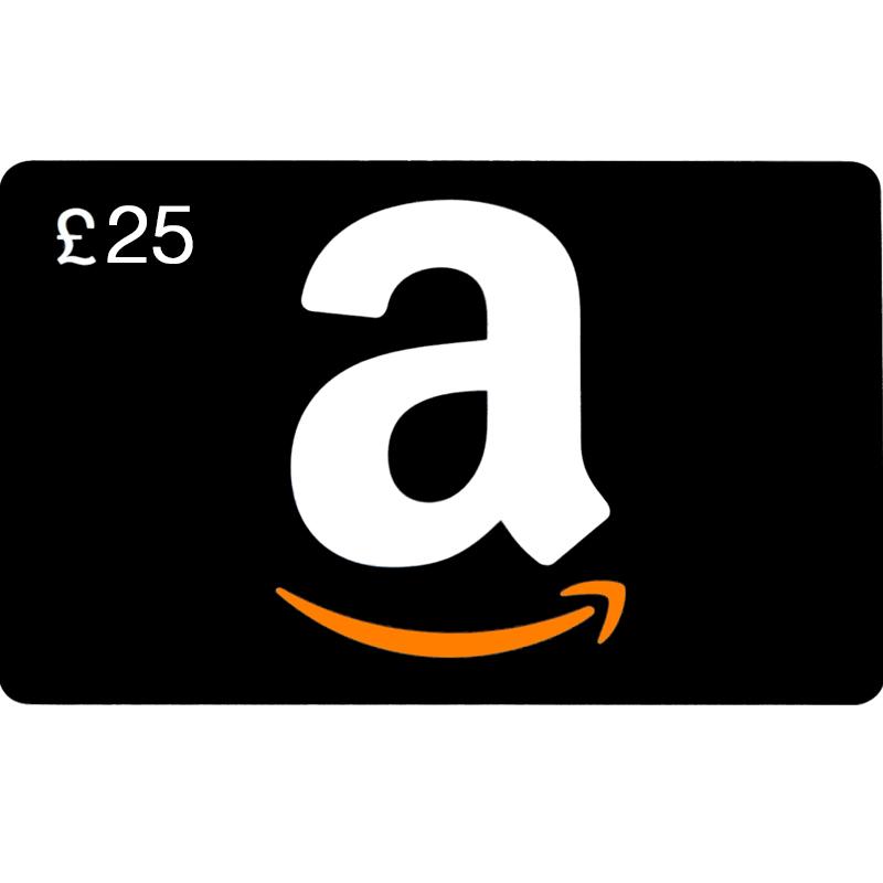 Amazon Gift Card 25 pond UK