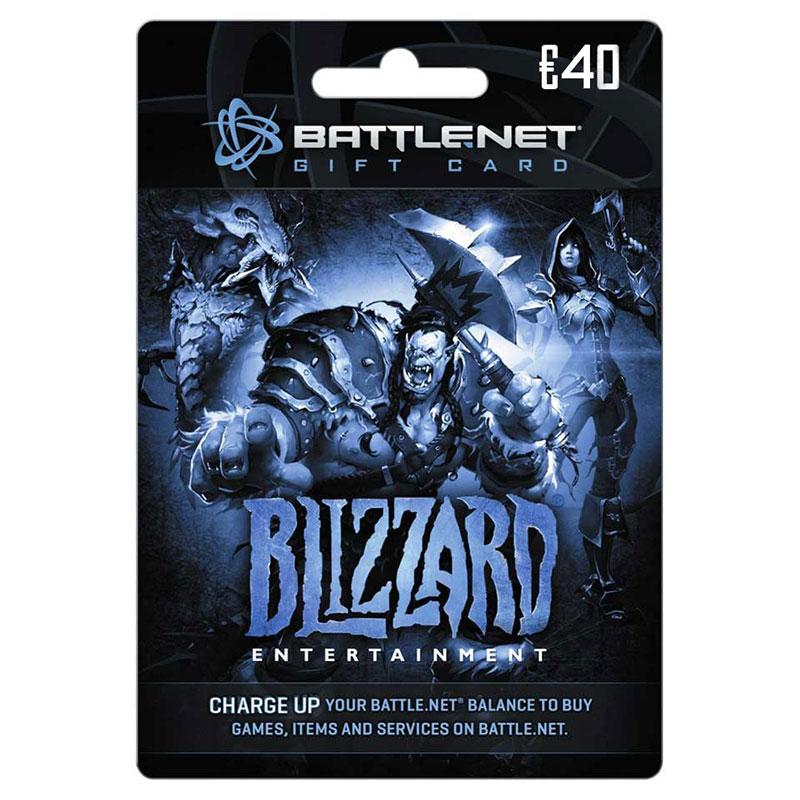 Battle.net Gift Card 40 Euro
