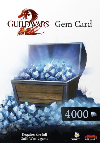 Guild Wars 2 - 4.000 Gems