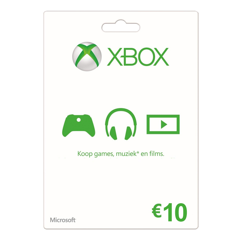 XBOX Gift Card 10 Euro
