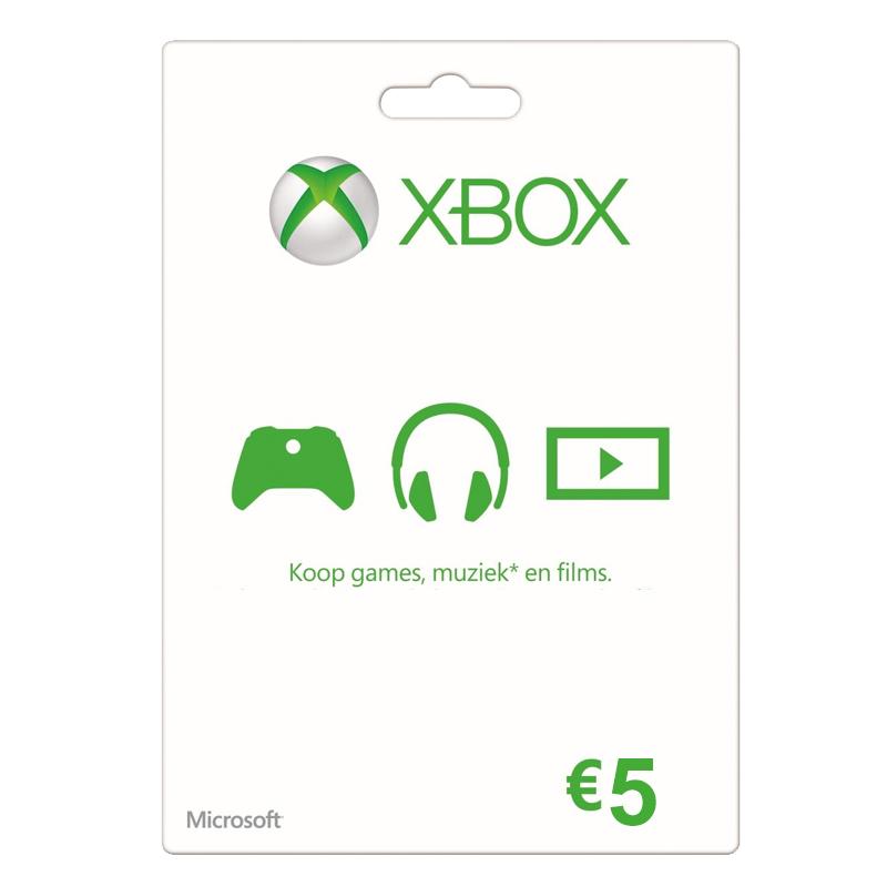 XBOX Gift Card 5 Euro