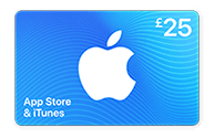 £25 App Store & iTunes Gift Card