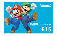 Nintendo eShop Card 15 Pounds