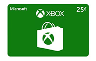 Xbox Digital Gift Card 25€