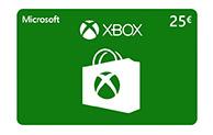 Xbox Digital Gift Card 25€