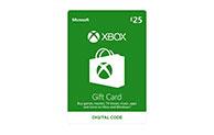 Xbox Digital Gift Card £25