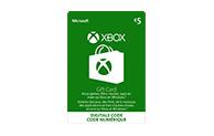 Xbox Digital Gift Card €5