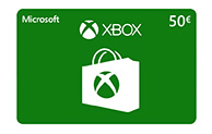 Xbox Digital Gift Card 50 EUR