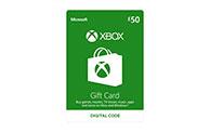 Xbox Digital Gift Card £50