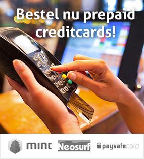 Prepaid Creditcards online kopen