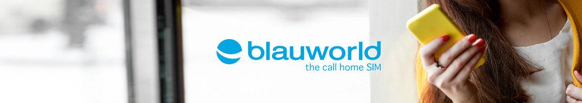 Blauworld aufladen
