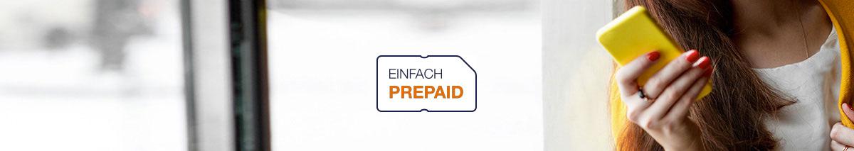 Einfach Prepaid aufladen