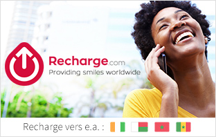Recharger le crédit d'appel à l'international