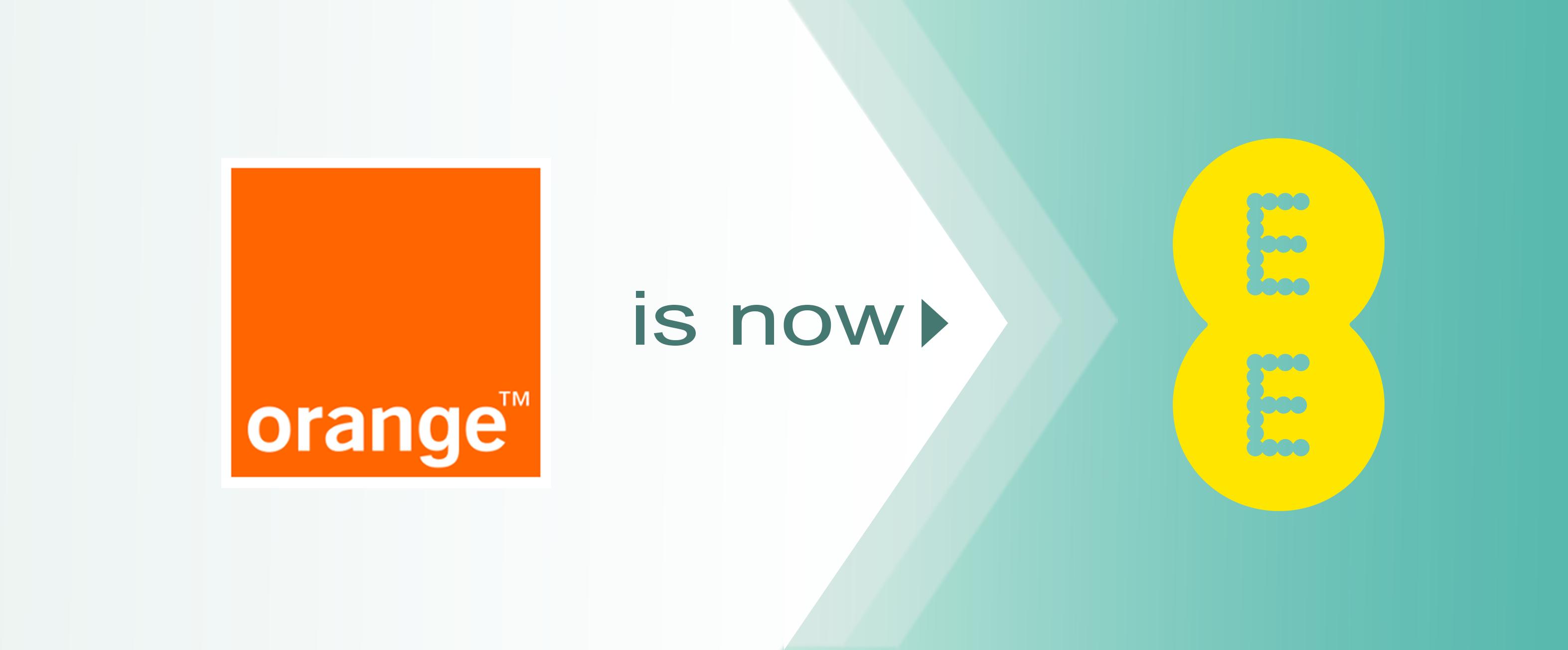 Orange is now EE