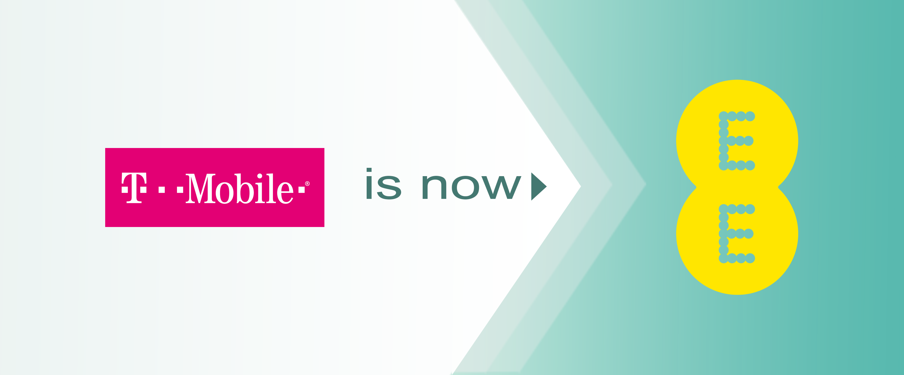 T-Mobile is now EE