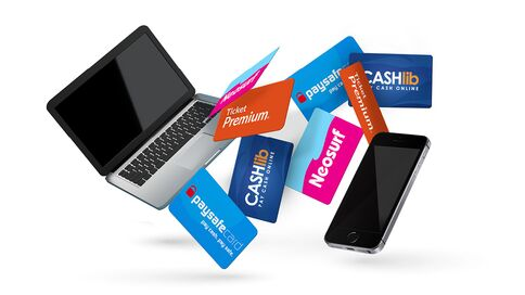 Combining several prepaid credit card codes in a single purchase
